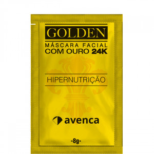 Máscara Golden 24K